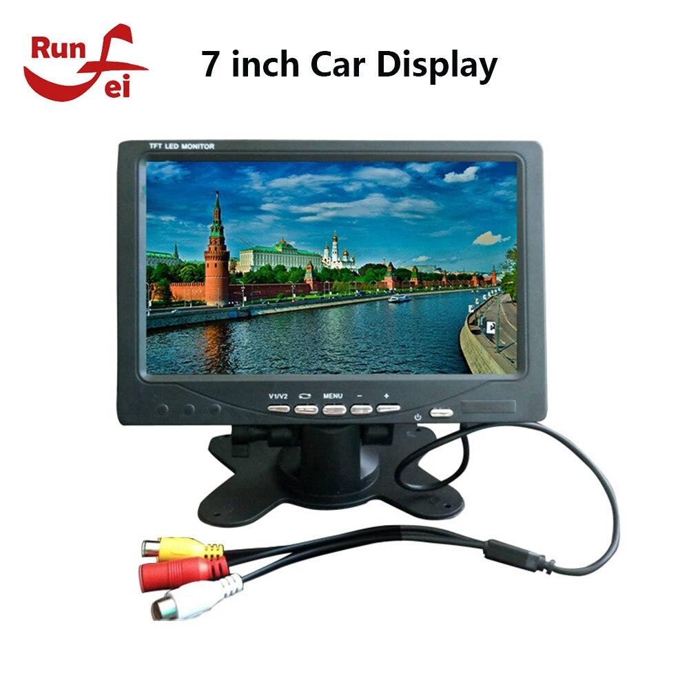 7 inch Car Display AV Car Monitor Portable Display support PAL / NTSC Video Input 800x480 Car TV
