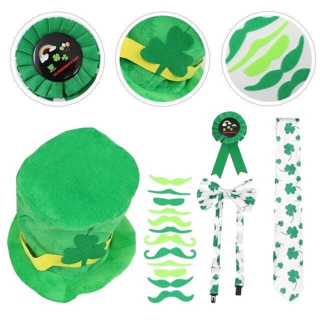 10Pcs Saint Patrick's Day Costume Accessories Festival Party Props Decoration 1