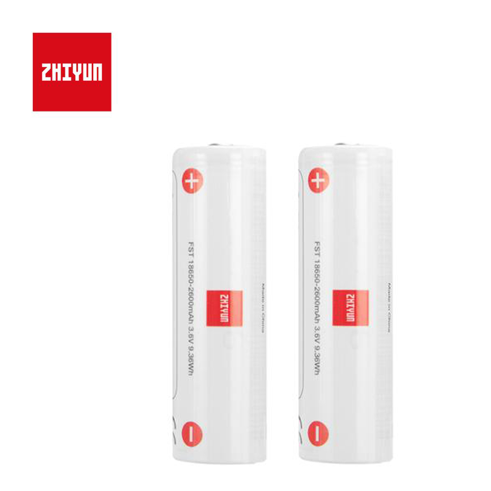 2 pièces/lot Original Zhiyun Weebill laboratoire stabilisateur cardan batterie 18650 2600mAh Lipo batterie Weebill laboratoire accessoire batterie