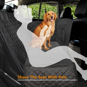 Image 2 - Dog Car Seat Cover Luxury Quilted Car Travel Pet Dog Carrier Car Bench Seat Cover Waterproof Pet Hammock Mat Cushion Protector