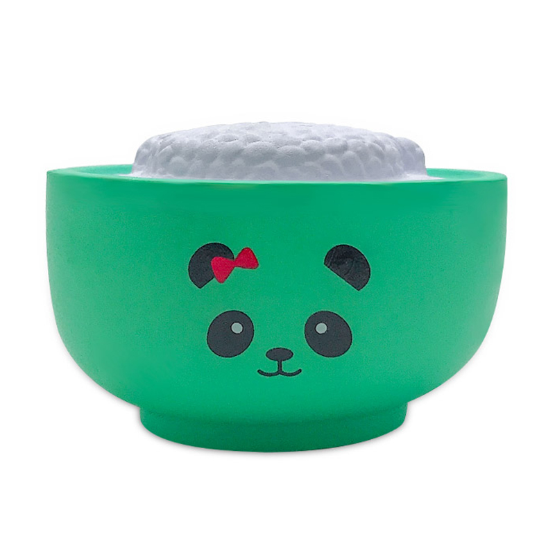 Jumbo Kawaii Simulated Food Rice Bear Squishy Bread PU Slow Rising Cream Scented Squeeze Toys Stress Relief Toy Gift