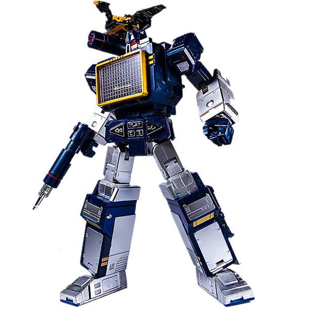 Игрушечный дом фабрика THF01J трансформационная игрушка Soundwave Walkman фигурки из фильма модель ABS сплав 25 см ко деформация автомобиля Робот