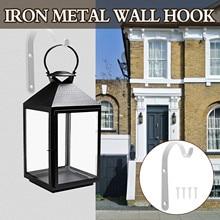 Wall-Hook Decorative-Hanger Bird-Feeder Hanging-Plant-Bracket Indoor for Lantern Wind-Chimes