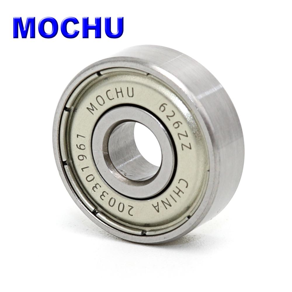 1PCS Bearing 626 626Z 626ZZ 6X19X6 626-2Z ABEC-5 MOCHU Shielded Ball Bearings MINI Deep Groove Ball Bearings, Single Row