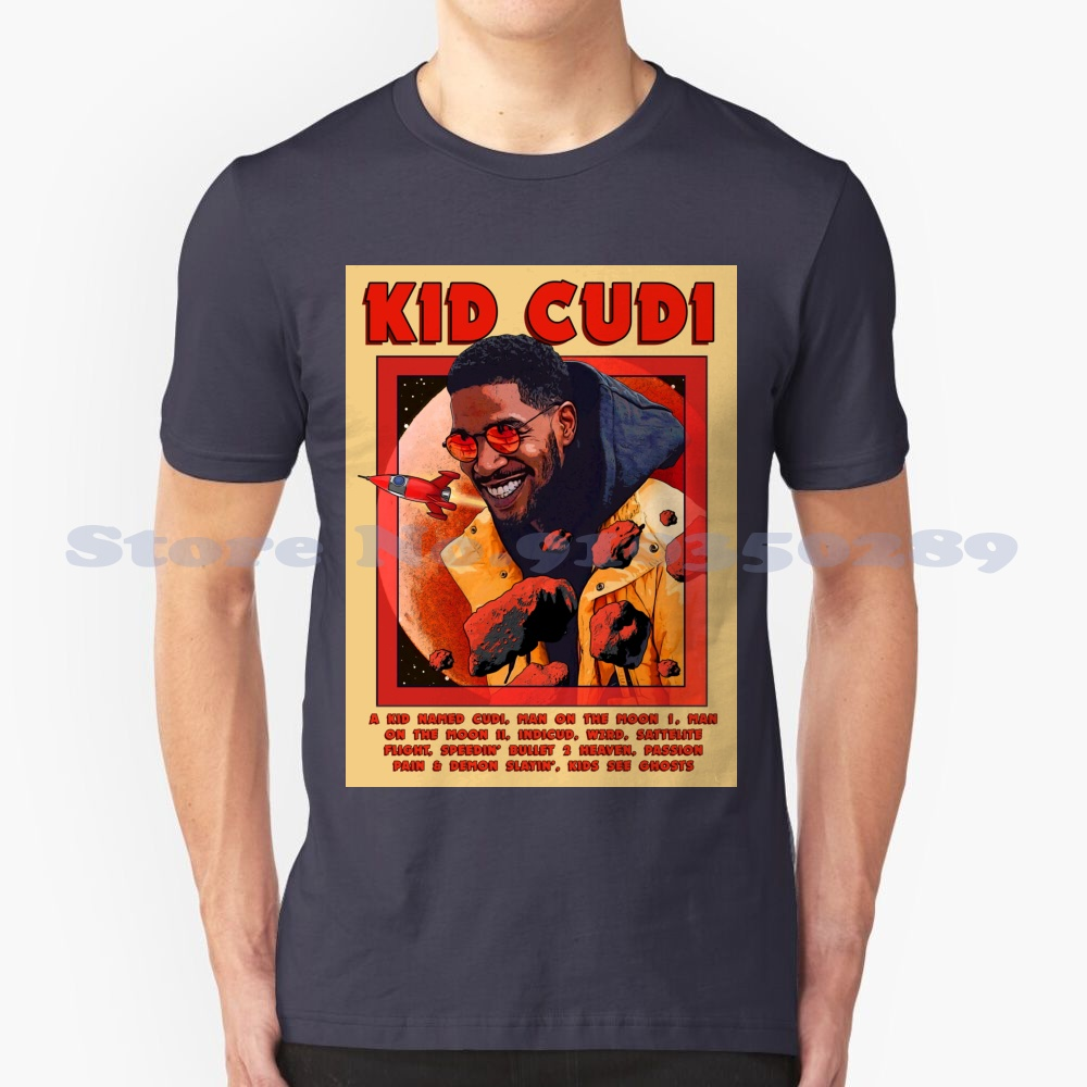 """KiD CuDi Singing """"Astronout"""" Funny T Shirt  1"""