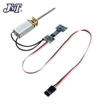 JMT Worm Motor with Motor Controller Module For Electronic Retractable Landing Gear DIY Multicopter RC Racing drone
