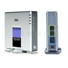 1 مجموعة VOIP بوابة 2 منافذ SIP V2 بروتوكول الإنترنت الهاتف صوت محول مع شبكة كابل ل لينكسيس PAP2T الاتحاد الافريقي/الاتحاد الأوروبي/الولايات المتحدة/المملكة المتحدة التوصيل