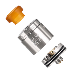 Image 4 - Orijinal Geekvape TALO X RDA 24mm Vape tankı Rebuildable damlama Atomizer 510 iplik Pin Squonk kutusu Mod VS wasp Nano