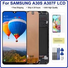 6,4 ''дисплей для Samsung galaxy A30s A307 SM-A307FN дисплей сенсорный экран дигитайзер сборка для Samsung A30S A305FN LCD