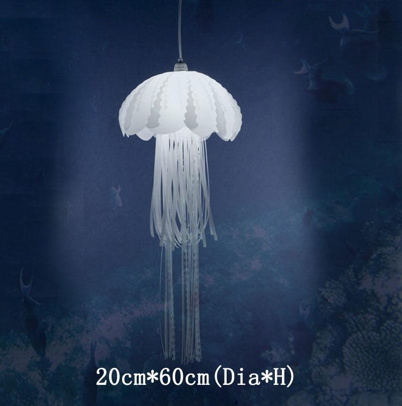 Nova medusae pingente lâmpadas brilho etéreo medusa droplight acalef hanginglight