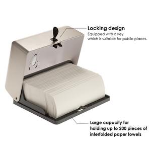 Image 3 - Tissue Box Holder Bathroom Tissue Dispenser Kitchen Napkin Holder For Kitchen Toilet Paper Towel Dispenser Wall Mounted