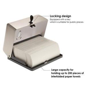 Image 3 - Wall Mounted Tissue Box Holder Toilet Paper Holder Bathroom Tissue Dispenser Kitchen Paper Holder Kitchen Paper Towel Dispenser