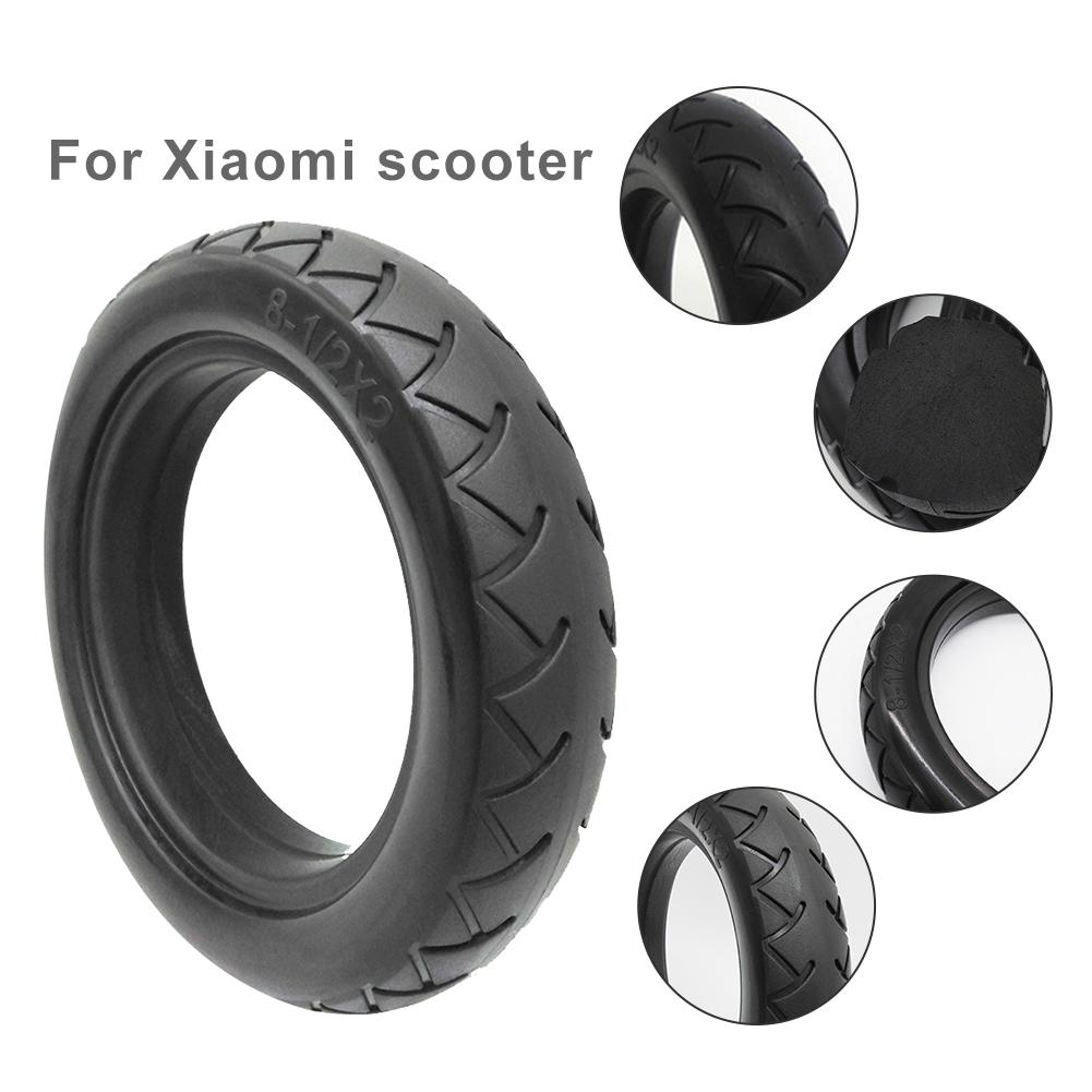 8.5Inch XIAOMI MIJIA M365 Electric Scooter Tire Vacuum Solid Tire Replacement Tire Electric Scooter Accessories For Xiaomi M365
