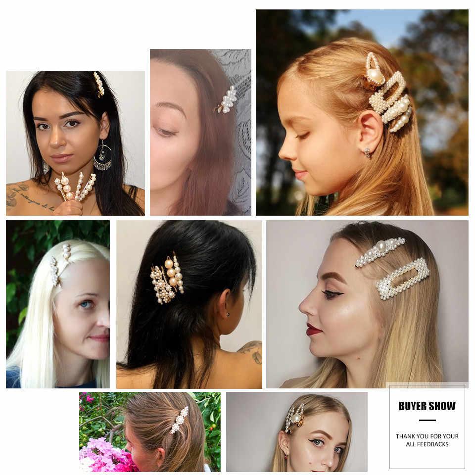21 стильная модная жемчужная заколка для женщин Элегантная Корейская заколка для волос палочка, Шпилька для волос для укладки волос Свадебные аксессуары для ювелирных изделий