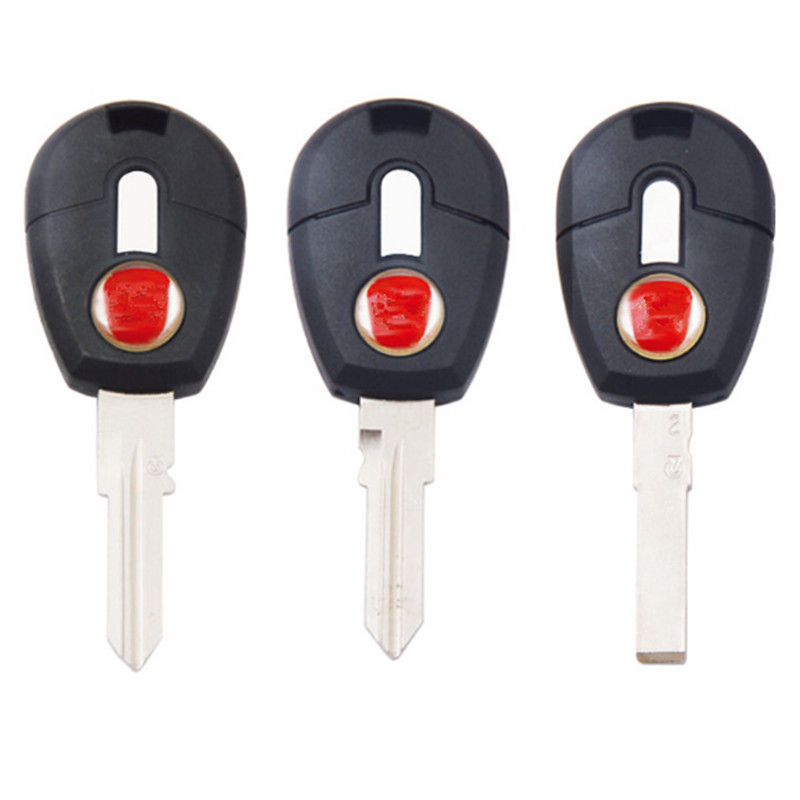DAKATU Replacement <font><b>Remote</b></font> <font><b>Key</b></font> Shell Case For <font><b>Fiat</b></font> Positron EX300 Fob Car <font><b>Key</b></font> Cover Auto Transponder With SIP22/GT15R Blade image