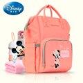 Сумка для подгузников для мам Дисней  вместительный рюкзак для путешествий  сумка для детских подгузников