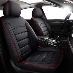 kokololee Custom Leather car seat covers For Hyundai Sonata Elantra Tucson i30 IX35 IX25 MISTRA Verna SantaFe ENCINO seat cars