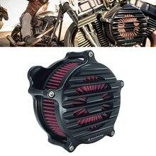 RSD ностальгия Venturi воздухоочиститель Впускной фильтр для Harley Sportster XL 883 1200 Touring FLHRC FLHTC Softail FXSTB Dyna FXD FXDB