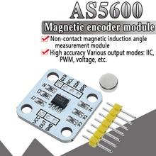 Module de capteur de mesure d'angle d'induction magnétique de codeur magnétique officiel AS5600 haute précision 12bit