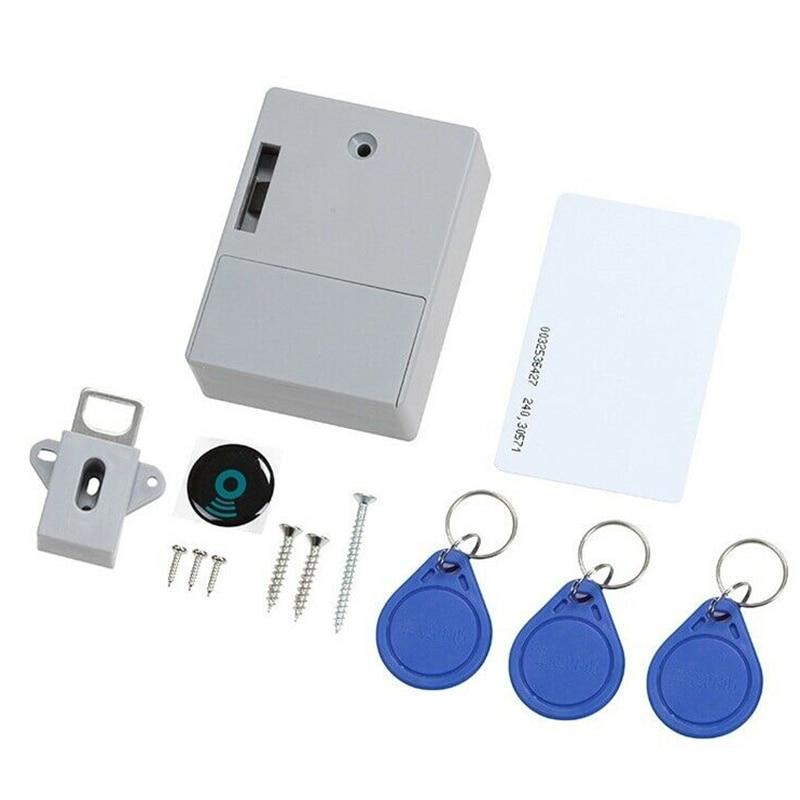Smart Lock For Locker Drawer Smart Sensing Induction Cabinet Wardrobe Door Lock  GT66