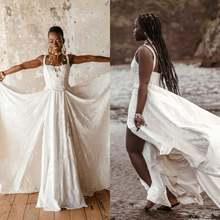 Кружевное атласное свадебное платье с квадратным вырезом без