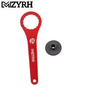Image 3 - 1PC Red and black Bicycle DUB BB Bottom Brackets Wrench 44mm 16 notch Install Repair for BB51 BB52 Bike Tool Spanner Repair Tool