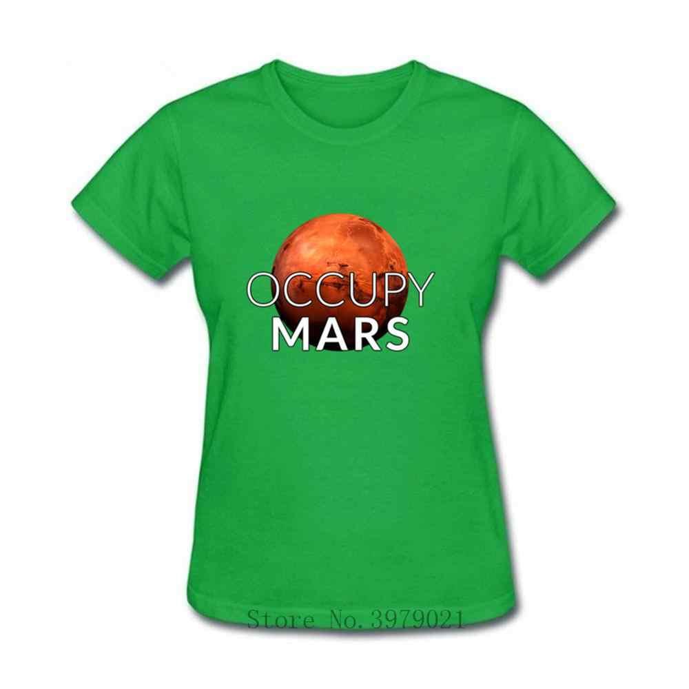 Camiseta de las mujeres del espacio de la aventura de Mars