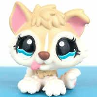 Velho pet shop brinquedos bonitos mini cão husky bebê #1013