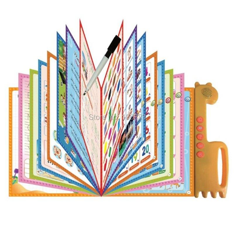Malay inglês árabe EBOOK-KU, criança pré-escolar educação