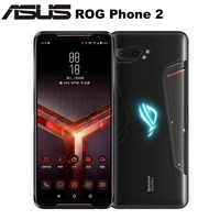 "Original Asus ROG teléfono II ZS660KL teléfono móvil 8GB 128GB Snapdragon855 + OctaCore 6,59 ""6000 mAh 48MP NFC Android 9,0 ROG teléfono 2"