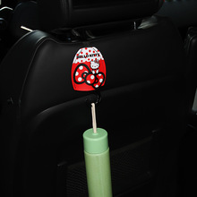1PC Car Seat Hook Kitty Cat Cartoon Seat Back Hook Multi-Functional Hidden Potho