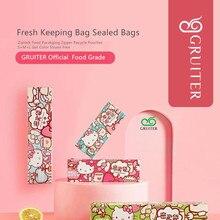 Pouches Sealed-Bags Pacakging-Bags Ziplock Kitty-Design Zipper Cartoon Food 56pc Wriring