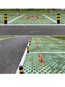 Bollard Road-Traffic Safety-Steel Night-Reflection Flexible 500mm-Type
