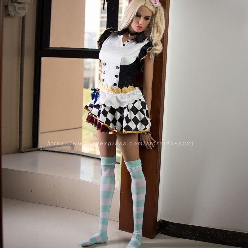 Image 2 - 170cm réaliste réaliste réaliste poupée sexuelle des hommes Europe Blonde avec yeux bleus amour poupéePoupées de sexe   -