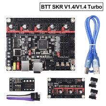 BIGTREETECH SKR V1.4 SKR V1.4 Turbo Placa de Controle TMC2209 TMC2208 uart EEPROM V1.0 3D Peças de Impressora Para Impressora CR-10 MKS SGEN