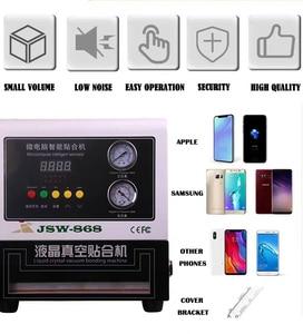 Image 5 - אוטומטי LCD LY 818 דיגיטלי OCA למינציה מתכוונן גובה למינציה מכונת 13 סנטימטרים LCD מסך תיקון כלים 220V 110V
