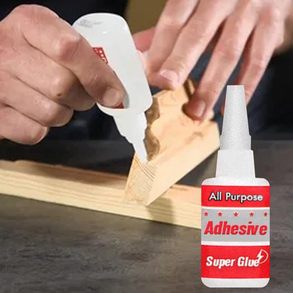 50ml All Purpose Adhesive Super Glue Plastic Wood Metal Rubber Tire Super Glue Soldering Agent Multi