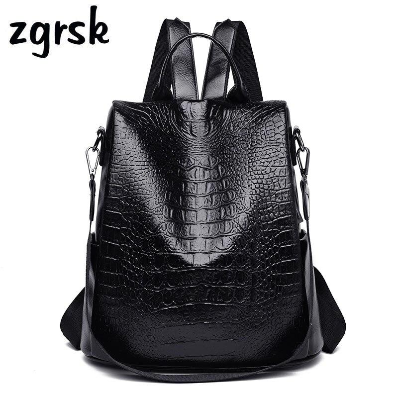 Female Geometric Backpack Student Designer  Pink Business School Bags For Teenagers Mochilas Travel Schoolbag