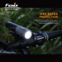Dual Distance Beam System Fenix BC21R V2.0 1000 Lumens Lightweight Bicycle Light with Li ion Battery