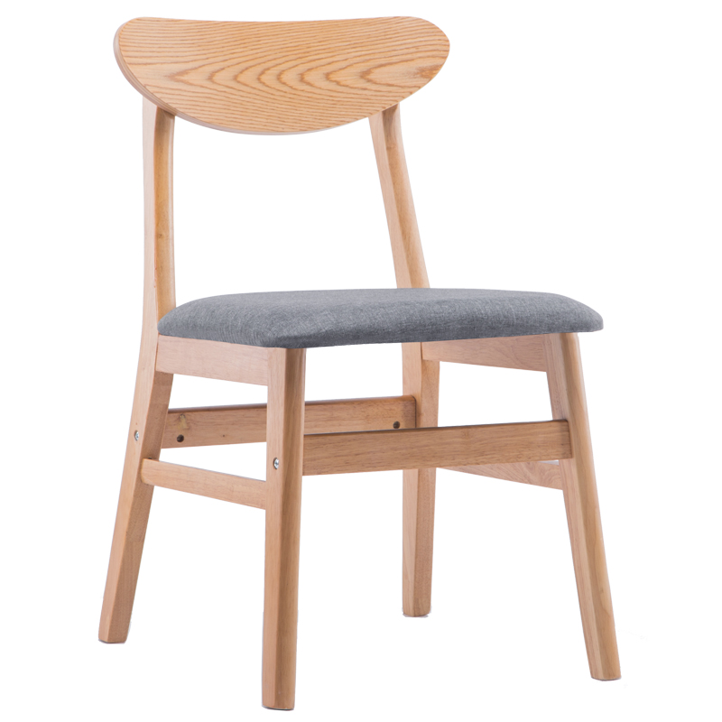 Nordic Chair Single Adult Modern Minimalist American Dining Table Home Restaurant Back Casual Stool