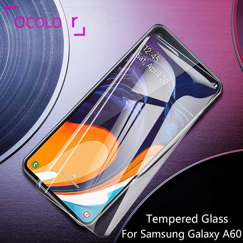 ocolor For Samsung Galaxy A60 Tempered Glass Film Protective Replacement Screen Guard For Samsung Galaxy A60 Steel Tempered Film