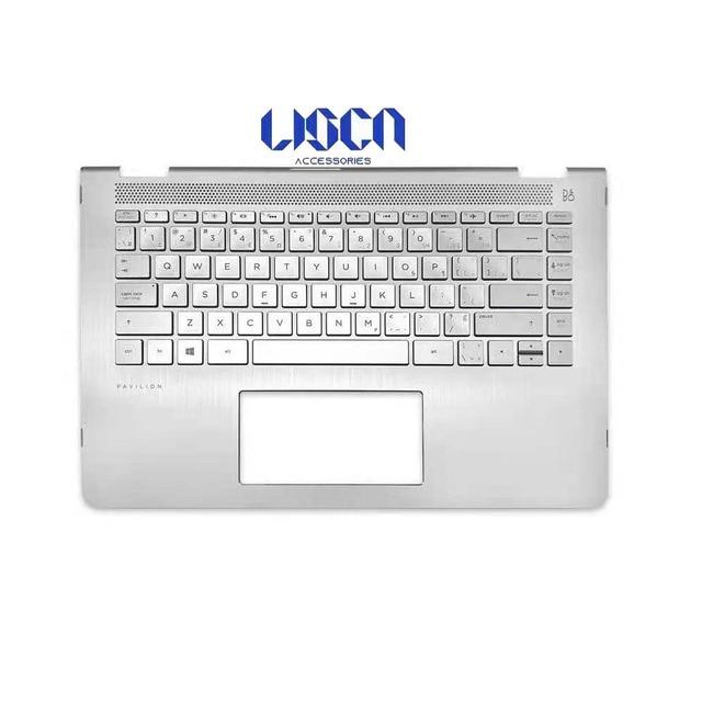 New HP Pavilion X360 14M-BA 14-BA Laptop LCD Back Cover/Front bezel/Palmrest/Bottom Case 924269-001 924270-001 924274-001 6