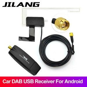 Car DVD Player Usb DAB/DAB+ Digital Radio Receiver Audio Broadcast Aerial Andrews navigation dedicated DAB+ USB 2.0 Dongle(China)