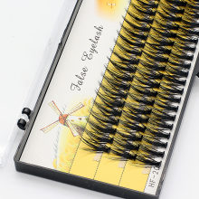 Super grosso 20d/30d vison cílios extensão maquiagem profissional efeito de volume 3d enxerto cílios falso falso individual chicote