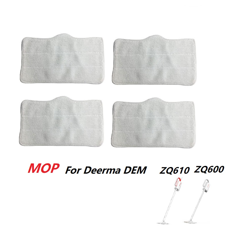 Steam Vacuum Cleaner Mop Cloth Cleaning Pads For Xiaomi Deerma DEM ZQ600 ZQ610 Handhold Cleaner Mop Replacement Accessory