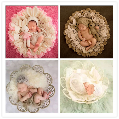 Newborn Photography Props Children's Background Decorative  Blanket Padding Baby Photo Shoot Auxiliary Picture Accessories