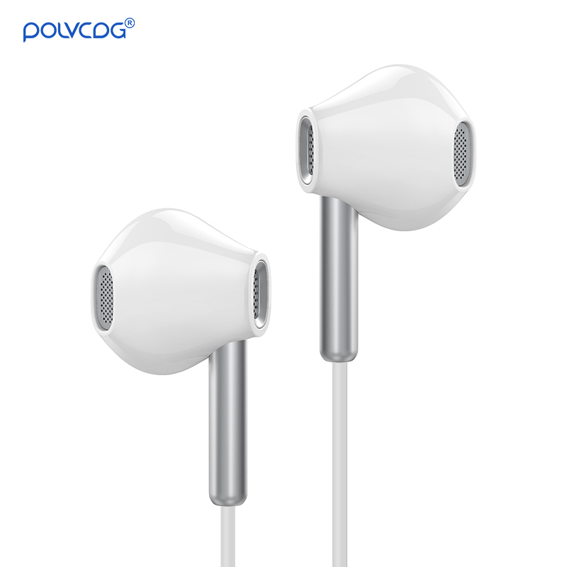 D1 Wired Earphones 3.5mm Handsfree Noise Cancelling with Mic Waterproof for <font><b>I12</b></font> <font><b>TWS</b></font> <font><b>Pro</b></font> Gaming Sports Earbuds In ear Headphones image