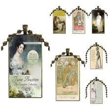 EJ Glaze Book Jane Austen For Girls Best Gift Fashion Glass