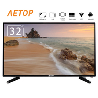 Free shipping 32'' flat screen smart Android 8.0 mini Television 32 Inch led tv with DVB T2/S2