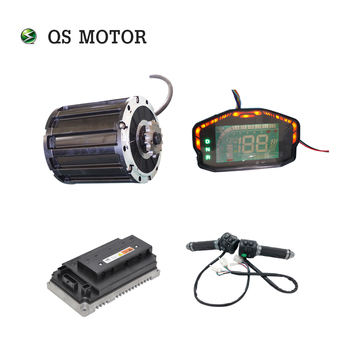 QSMOTOR 2000W Mid drive motor with EM72100SP controller and kits for electric motorbike Dirtbike 70KPH 72V